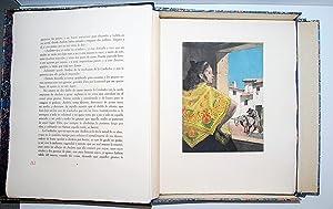 La Gitanilla. Ilustraciones al Aguafuerte De Ramón De Capmany.: Cervantes Saavedra, Miguel ...
