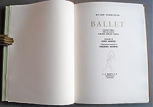 Ballet. Variacions Líriques Sobre Uns Temes De Verlaine, Debussy I Degas. Litografies De ...