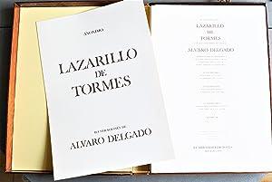 Lazarillo De Tormes. Con 20 Ilustraciones Del Pintor Álvaro Delgado, En Serigrafías ...