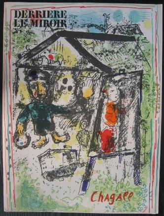 Derriere le miroir von chagall zvab for Chagall derriere le miroir