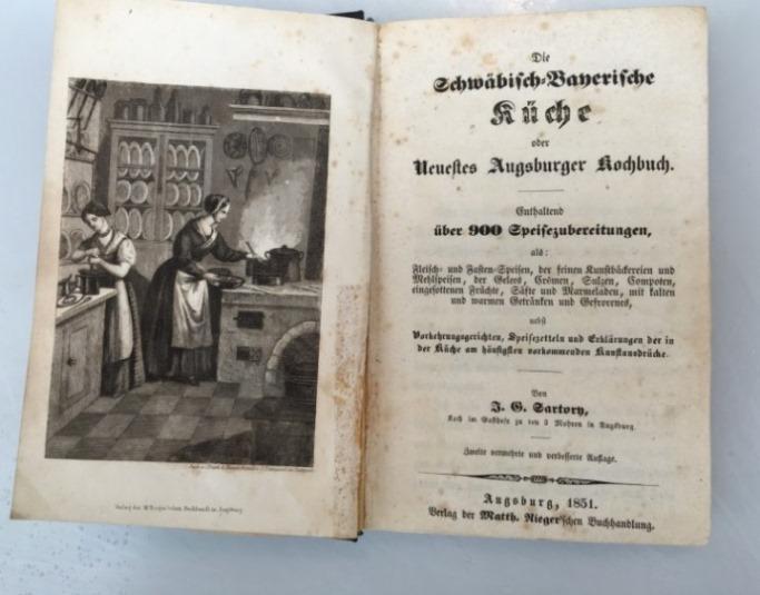 neuestes augsburger kochbuch von sartory - ZVAB