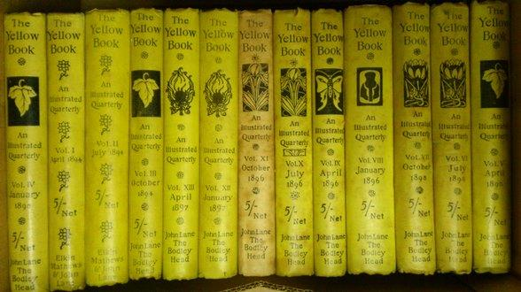 The Yellow Book. An Illustrated Quarterly (IN: Beardsley, Aubrey,