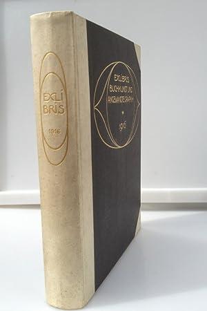Ex Libris Buchkunst und Angewandte Graphik (1916),: Corwegh, Dr. Robert,