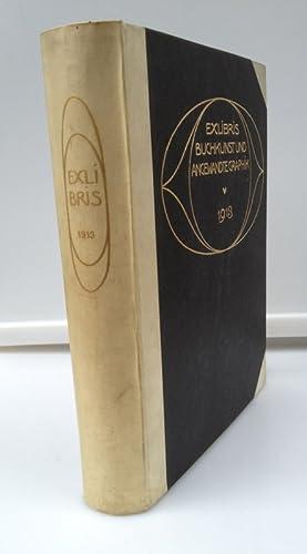 Ex Libris Buchkunst und Angewandte Graphik (1913),: Corwegh, Dr. Robert,