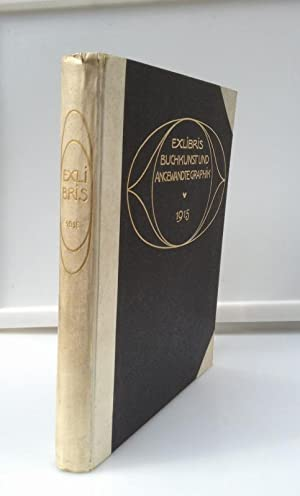 Ex Libris Buchkunst und Angewandte Graphik (1915),: Corwegh, Dr. Robert,