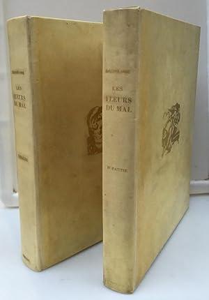 Les fleurs du mal (in 2 Bänden),: Baudelaire, Charles und