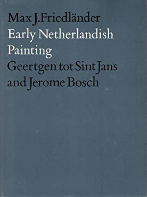 Geertgen tot Sint Jans and Jerome Bosch,: Friedländer, Max J.,