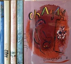 Chagall Lithographe, Bände II - VI,: Chagall, Marc und