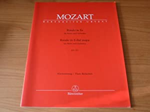 Rondo in E-Flat major for Horn and: Mozart, W.A. ;