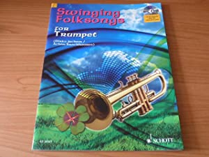 Swinging Folksongs Play-along for Trumpet (Book-CD with: Juchem, Dirko ;