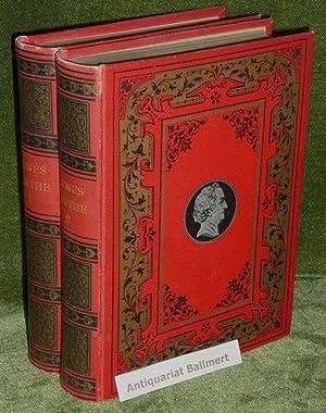 Goethes Leben und Werke. Neu übersetzt und: Lewes, G.H.:
