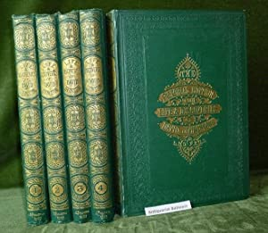 The pictorial edition of the life & discoveries of David Livingstone. 5 Bücher. Africa, Livingsto...