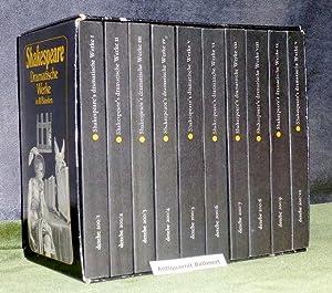 Shakespeares dramatische Werke in 10 Bänden. Übersetzt: Shakespeare, William; Schlegel,