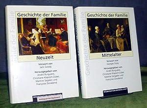 Geschichte der Familie. Band 2: Mittelalter. Band: Burguière, André; Christiane