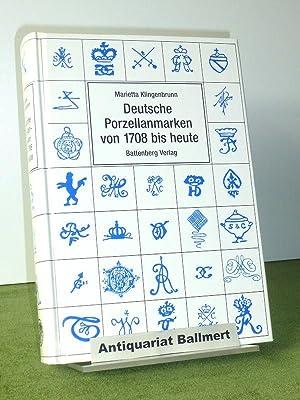 Deutsche Porzellanmarken von 1708 bis heute.: Klingenbrunn, Marietta: