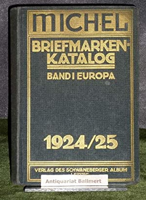 Hugo Michel's Briefmarken-Katalog 1924/25: Europa.: Briefmarken -