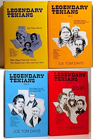 Legendary Texians: Set of 4 Volumes: Davis, Jo Tom