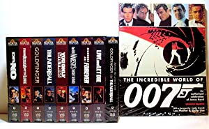 The Incredible World of Agent 007: Eight Videos & Oversized Softbound Book: Fleming, Ian