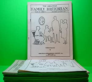 The Arkansas Family Historian - Twelve Quarters 1978 - 1984: Arkansas Genealogical Society