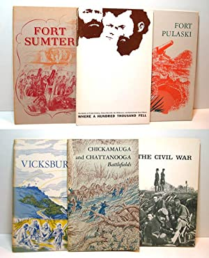 CONFEDERATE MILITARY HISTORY (twelve volumes) PLUS CIVIL WAR BATTLES: Set of 12 Booklets: 11 ...