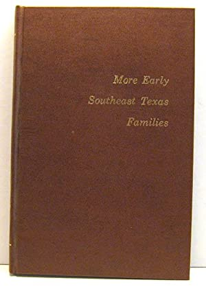 More Early Southeast Texas Families: Madeleine Martin