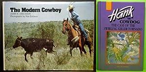 The Case of the Swirling Killer Tornado: Book 25 & The Modern Cowboy - JOHN R. ERICKSON TWOSOME...