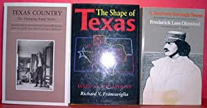 TEXAS TRIO: 3 Books - #1 - A Journey Through Texas; #2 - Texas Country:The Changing Rural Scene; &...