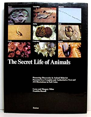 Animals & The Secret Life of Animals - Two Books: Harter, John & Milne, Lorus and Margery Milne