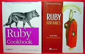 Ruby For Rails & Ruby Cookbook - 2 Volumes: Black, David A. & Carlson & Richardson