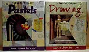 "Fine Arts Studios ""Pastels"" Kit by Mary Iverson and ""Drawing"" by Jim Bradrick: ..."