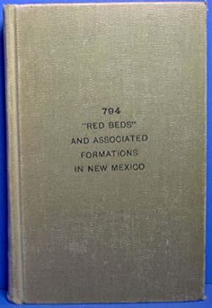 """Red Beds"""" and Associated Formations In New Mexico - 794: Darton, N. H."""