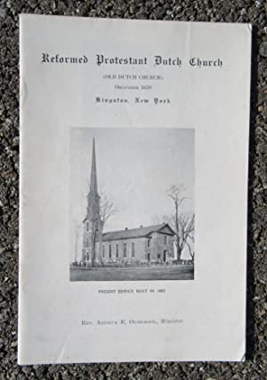 Reformed Protestant Dutch Church (Old Dutch Church) Organized 1659, Kingston, New York: Oudemool, ...