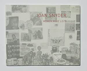 Joan Snyder: Women Make Lists