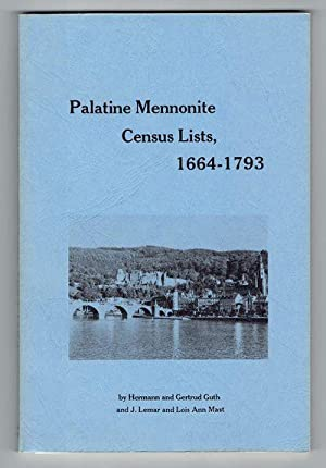 Palatine Mennonite Census Lists, 1664-1793: Guth, Hermann and