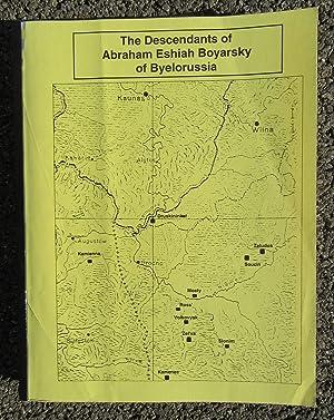 The Descendants of Abraham Eshiah Boyarsky of Byelorussia: Boyarsky, Bill