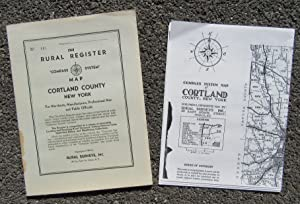 Rural Register Compass System Map, Cortland County, New York for Merchants, Manufacturers, ...