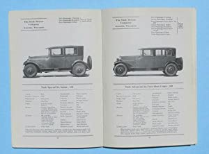 Handbook [Hand Book] of Automobiles, 1925: National Automobile Chamber of Commerce