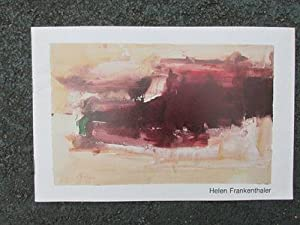 Helen Frankenthaler, Twelve Works on Paper: Fendrick Gallery, January 6-28, 1979