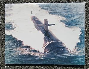 USS MINNEAPOLIS-SAINT PAUL (SSN-708) U.S. NAVY SUBMARINE 1984 COMMISSIONING BOOK; OFFICIAL PHOTO: ...