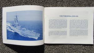 USS VIRGINIA (CGN-38) U.S. NAVY GUIDED MISSILE CRUISER 1976 COMMISSIONING BOOK: U.S. NAVY