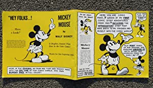"Announcing ""Mickey Mouse"" in Comic Strip Form by Walt Disney, His Creator: Bayliss, Howard"