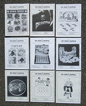 Toy Ring Journal [first nine issues 1996-1999]: Weinberger, Laurie