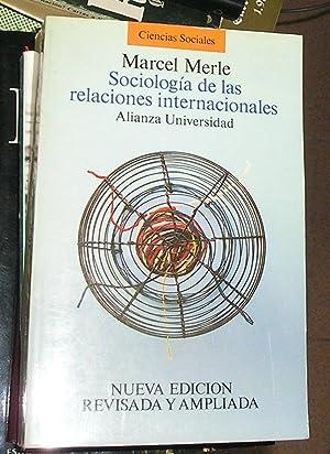Sociología de Las Relaciones Internacionales: Merle, Marcel