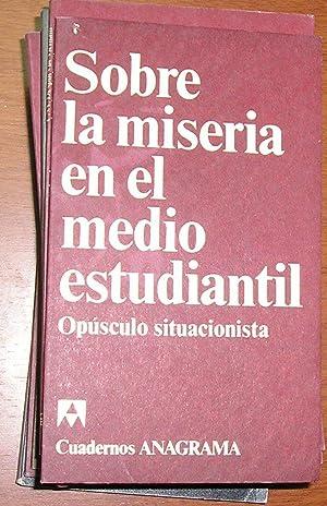 Sobre la Miseria en el Medio Estudiantil: Khayati, Mustapha
