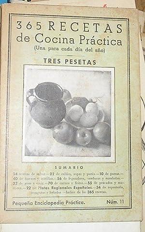 365 RECETAS DE COCINA PRACTICA -PEQUEÑA ENCICLOPEDIA PRACTICA-.: VV.AA.