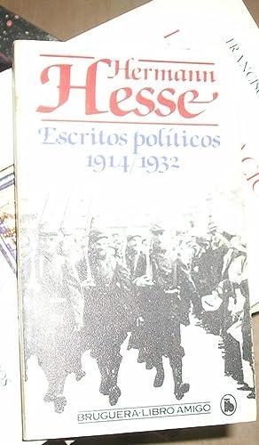 ESCRITOS POLITICOS 1914-1932.: HESSE, HERMANN.