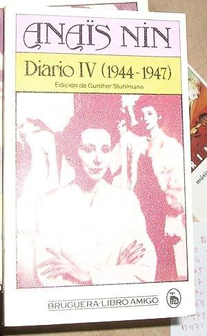 DIARIO IV 1944-1947 -EDICION STUHLMANN-.: NIN, ANAIS.