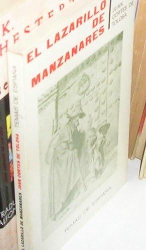 LAZARILLO DE MANZANARES, EL -EDICION DE INES: CORTES DE TOLOSA,