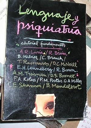 LENGUAJE Y PSIQUIATRIA.: BRAIN, R.; C.