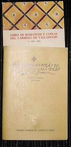 Libro de Romances y Coplas : Del: Concha, Víctor G.